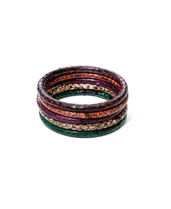 Bracelets Pythons made in Sénégal